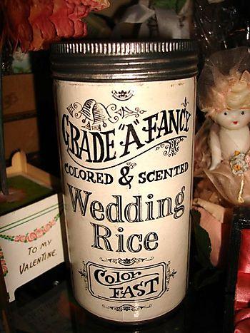 Wedding rice