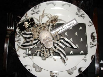 Halloween table 4