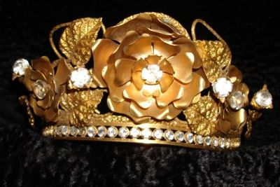 Crown with flowers 2