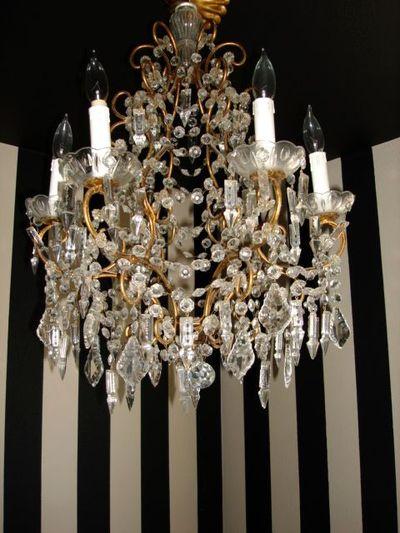 Bath chandelier