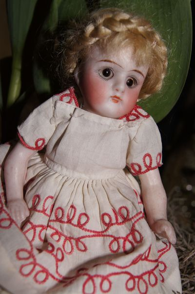 Antique doll small