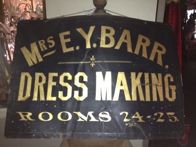 Dress maker sign 2